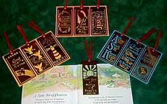 18K BOOKMARKS ~ Religious Assorted