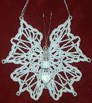 ORNAMENT ~ Crystal Butterfly