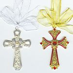 Enamel CROSSES w Jewels  ~ Assortment