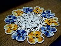 DOILY ~ SMALL Pansy
