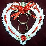 ORNAMENT ~ Victorian Wedding Heart
