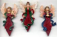MAGNETS ~ Christmas Angels