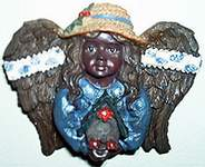 Angels of Color MAGNET ~ Birdhouse Magic