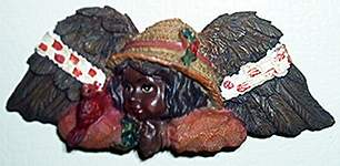 Angels of Color MAGNET ~ Cardinal Love