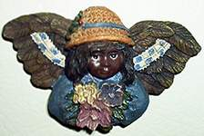 Angels of Color MAGNET ~ Floral Bouquet