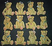 MAGNETS ~ Birthstone Bears