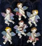 MAGNETS ~ Cherub Collection