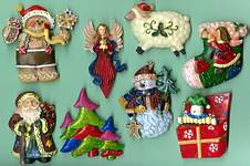 Christmas MAGNETS ~  Assortment