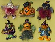 MAGNETS ~  Halloween Assortment