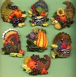 MAGNETS ~ Thanksgiving Assortment