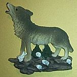 Gray Wolves MAGNET~ Howling Left