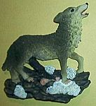Gray Wolves MAGNET~ Howling Right