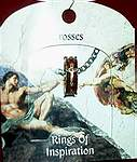 RING OF INSPIRATION on CARD ~ Crosses