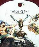 RING OF INSPIRATION on CARD ~ Fishers of Men