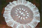 DOILY ~ Antique Oval