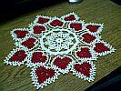 DOILY ~ Candy Hearts MED