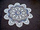 DOILY  ~ Jewel w Garland
