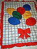 BABY QUILT SET ~ Colorful Balloons