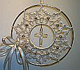 SUNCATCHER ~ Crystal Cross