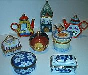 TRINKET BOXES ~ Porcelain Assortment