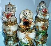 TRINKET BOXES ~ Bunny Rabbit ~  Assortment
