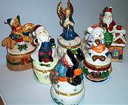 TRINKET BOXES ~ Christmas Holiday Assortment