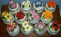 Floral ~ TRINKET BOXES ~ Assorted