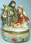 Nativity TRINKET BOXES ~ Assortment