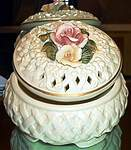 Porcelain Rose Keepsake Box