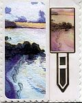 BOOKMARK CARD ~ Footprints in the Sand