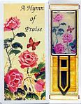 BOOKMARK CARD ~ Roses w Butterfly