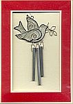 WINDCHIME CARD ~ Dove w Olive Branch