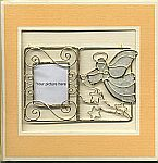 Picture Frame CARD ~ Angel w Horn