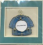Picture Frame CARD ~ Blue Shirt