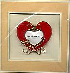 Picture Frame CARD ~ Red Heart