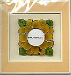 Picture Frame CARD ~ Zinnia