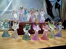 CRYSTAL ANGELS ~ Birthstone Colors ~ Assorted