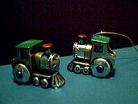 MINIATURE ~ Pewter Train Engin