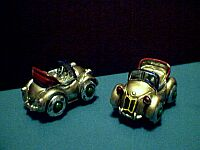 MINIATURE ~ Pewter Roadster Car