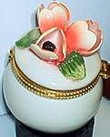 Floral TRINKET BOX ~ Tulips